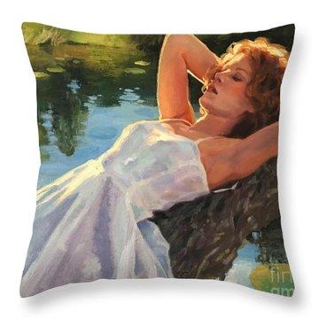 Summer Idyll Throw Pillow