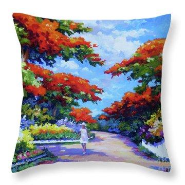 Summer In Savannah Throw Pillow