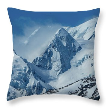 Summer Winds In Mount Cook National Park Throw Pillow