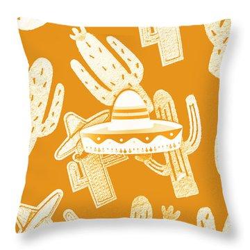 Summerbrero Throw Pillow