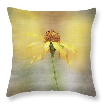 Summer's Reward In Digital Watercolor Throw Pillow