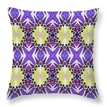 Sun Abstract Throw Pillow
