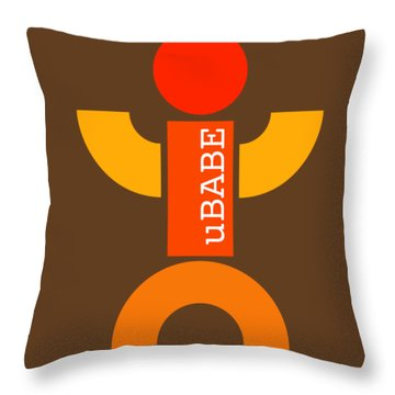 Sun Fun Throw Pillow