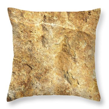 Sun Stone Throw Pillow
