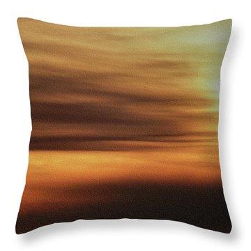 Sunburnt Throw Pillow