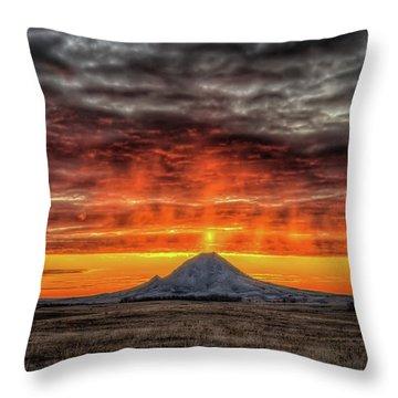 Sunday Sunrise Nov. 11, 2018 Throw Pillow