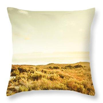 Sundown Bend Throw Pillow