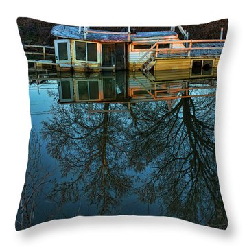 Sunken Throw Pillow