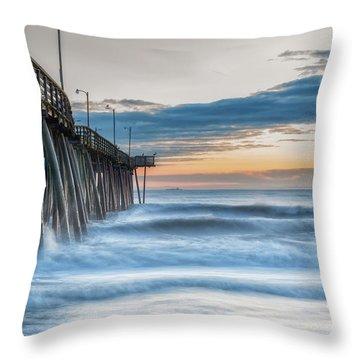 Sunrise Bliss Throw Pillow