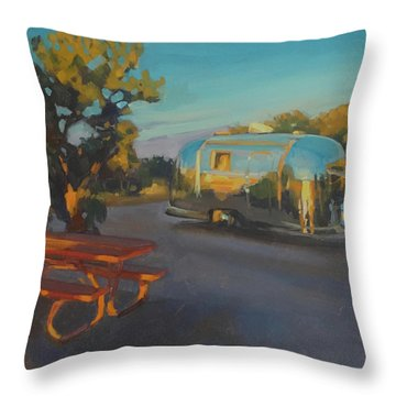 Sunrise In Navajo Monument Throw Pillow