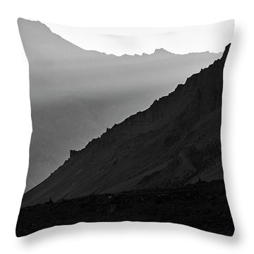 Throw Pillow featuring the photograph Sunrise In The Himalayas by Whitney Goodey