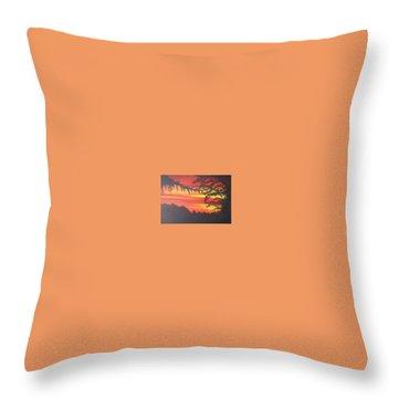 Sunrise Throw Pillow