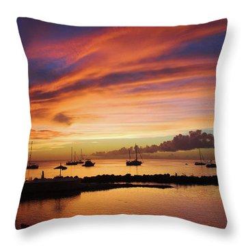 Trinidad And Tobago Throw Pillows