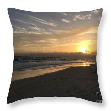 Sunset On 30a Throw Pillow