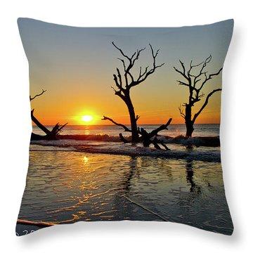 Sunsup Throw Pillow