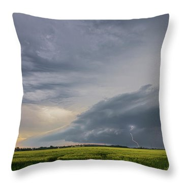 Supercell Time Throw Pillow