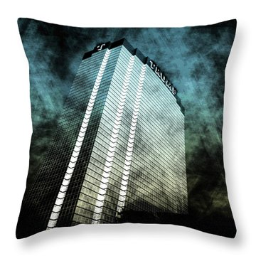 Surrounded By Darkness Throw Pillow