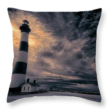 Surviving The Storm Throw Pillow