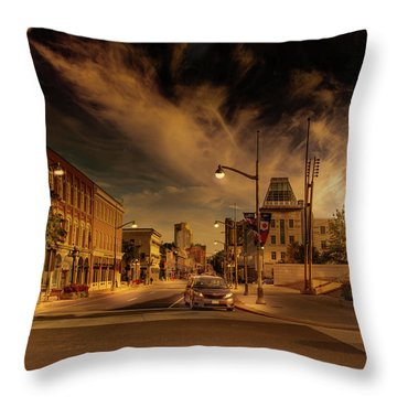 Throw Pillow featuring the photograph Sussex Dr by Juan Contreras
