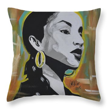 Sweet Sade Throw Pillow