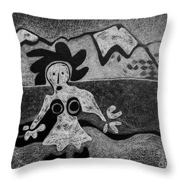 Swiss Miss Throw Pillow