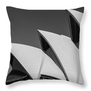 Throw Pillow featuring the photograph Sydney_opera by Mark Shoolery