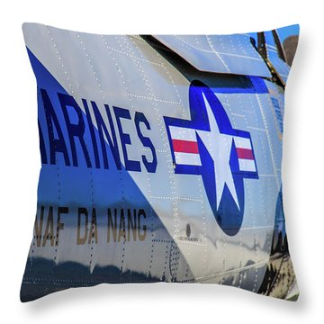 T-28b Trojan Throw Pillow