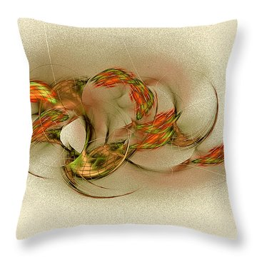 Ta Bitjet Scorpion Goddess Throw Pillow