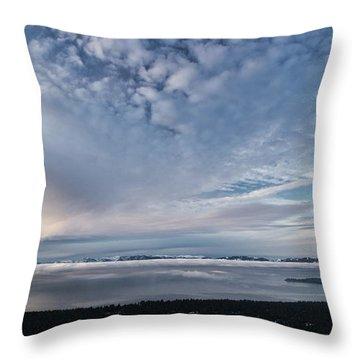 Tahoe Sky Throw Pillow