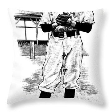 Take Me Out To The Ballgame Throw Pillow