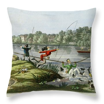 Taking A Fly Throw Pillow