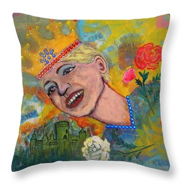 Taking Back Your Crown Throw Pillow