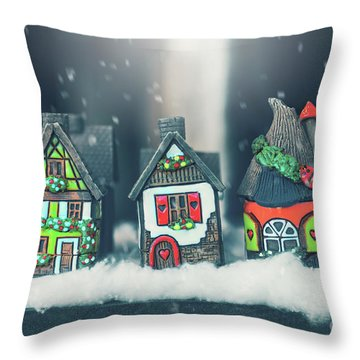 Tales From The North Throw Pillow