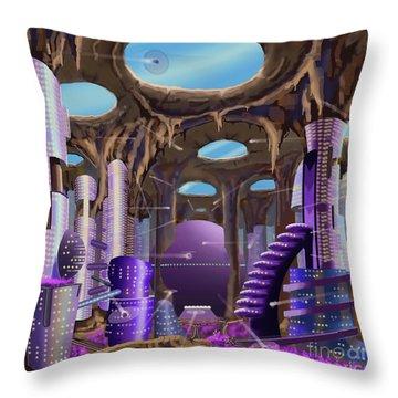 Tandalo, Sferogyl's Capital Throw Pillow