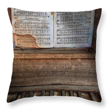 Tattered Faith 2 Throw Pillow