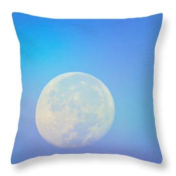 Taurus Almost Full Moon Blend Throw Pillow