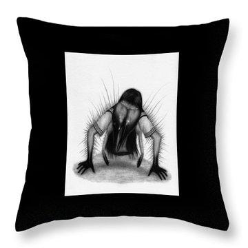Teke Teke - Artwork Throw Pillow