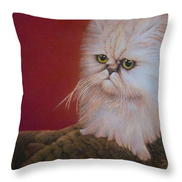 Tempest In A Teacup Throw Pillow