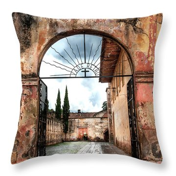 Templo Del Sagrario Throw Pillow
