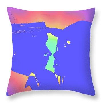 Tempted Throw Pillow