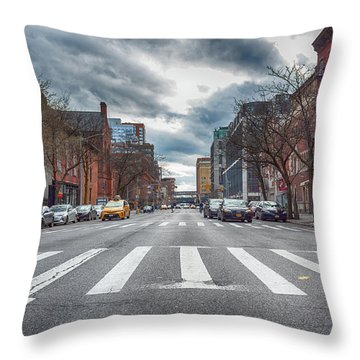 Tenth Avenue Freeze Out Throw Pillow