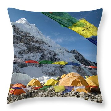 Khumbu Throw Pillows