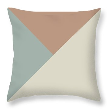 Terrazzo Corners 2- Art By Linda Woods Throw Pillow