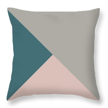 Terrazzo Corners 3- Art By Linda Woods Throw Pillow