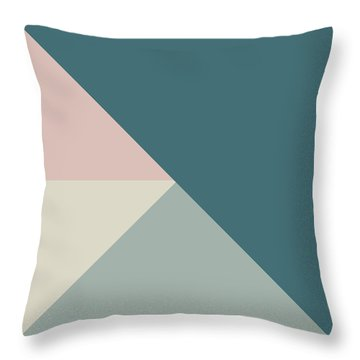 Terrazzo Corners 4- Art By Linda Woods Throw Pillow