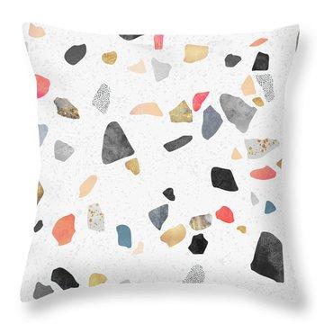 Terrazzo Treasure Throw Pillow