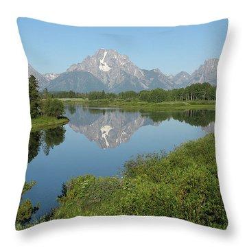 Teton Moment Throw Pillow