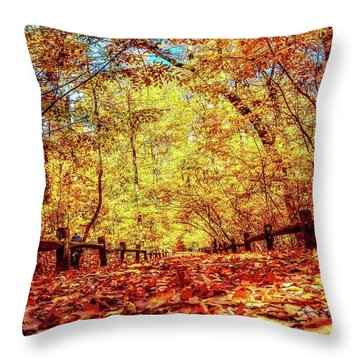 Thain Forest Throw Pillow