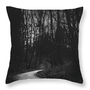 That Lonesome Road Throw Pillow