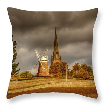 Throw Pillow featuring the photograph Thaxted Village by Chris Cousins